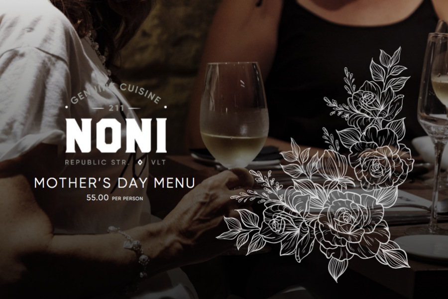 Mothers Day Menu 2019